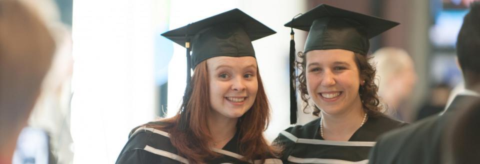 BCom graduates celebrate their achievement