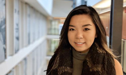 BCom student Clara Chu