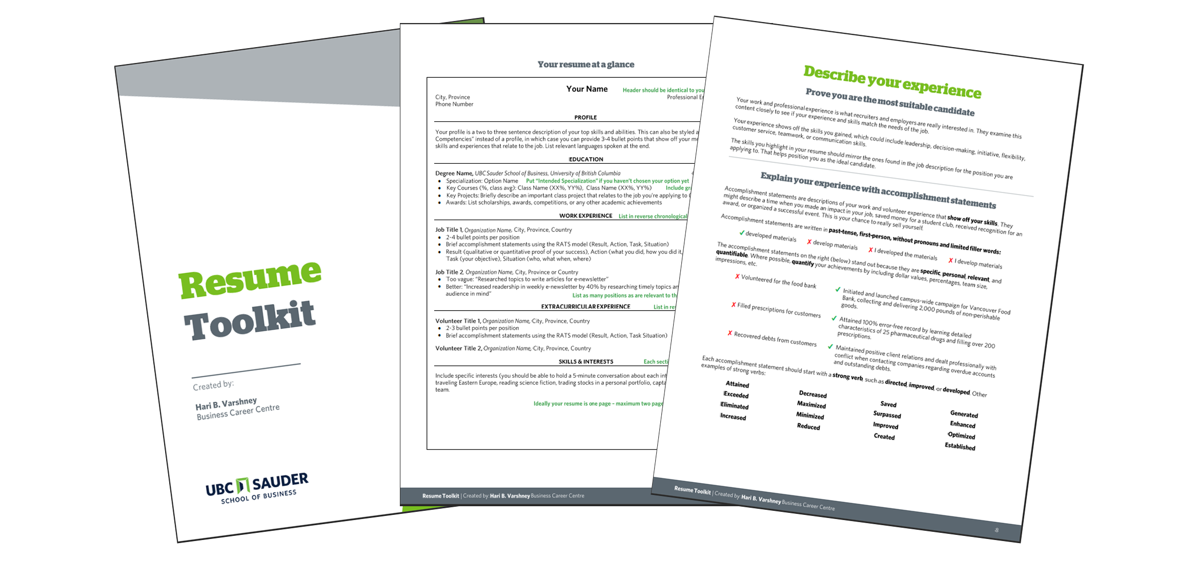 resume toolkit