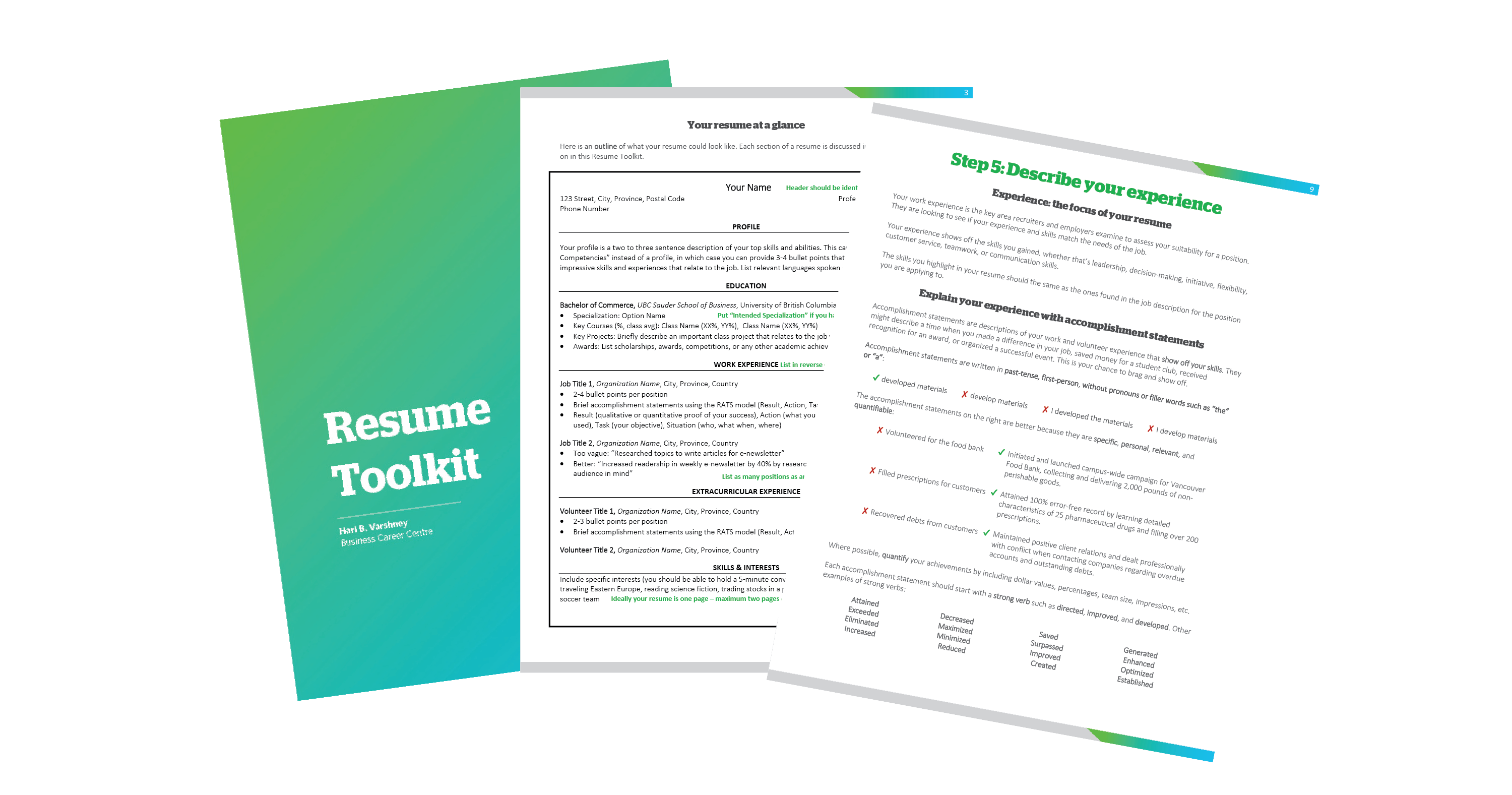 Download Your Resume Toolkit