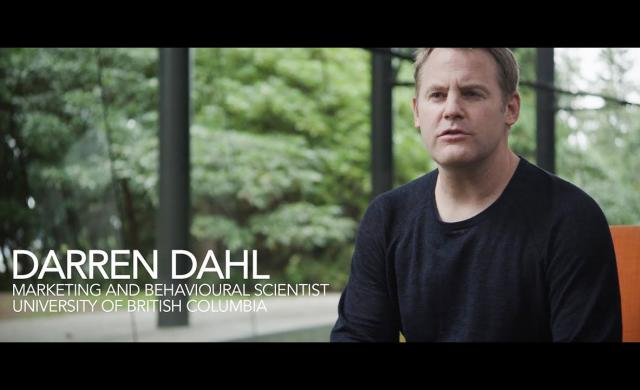 Embedded thumbnail for Darren Dahl Marketing research video