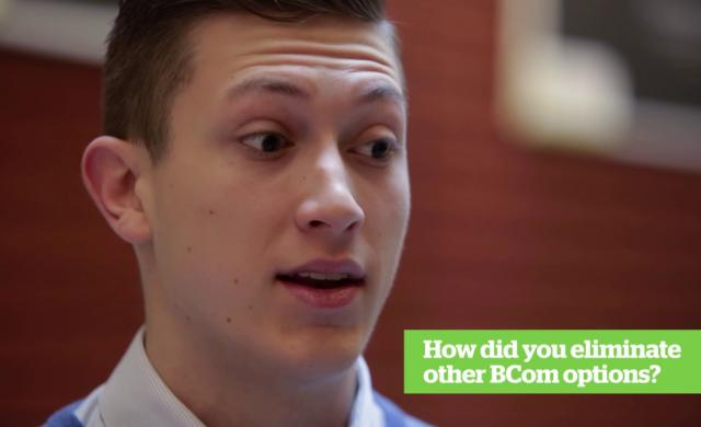 Embedded thumbnail for BCom Options - Accounting